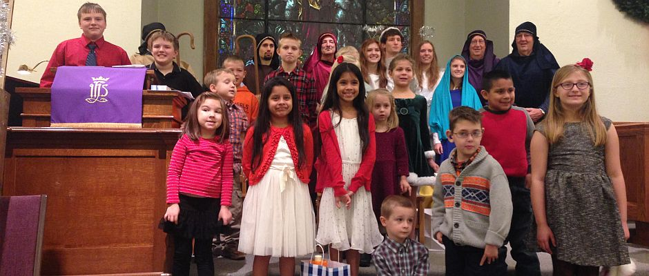Plattsburg UCC Children's 2015 Christmas Program